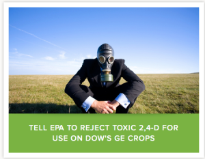 From the Center for Food Safety website.  Clearly fear peddlers and not supporters of farmers at all.