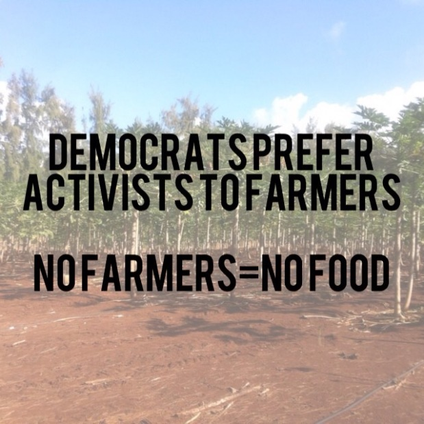 The Hawaii Democratic Party Wants Farmers Out of Business