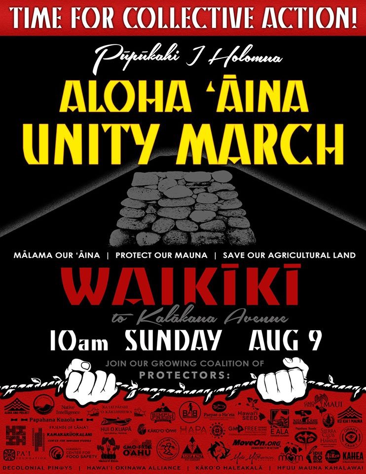 The Future of Hawaii Can't Rest in a Protest > Hawaii Free Press